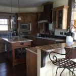 Granite countertops and state of the art kitchen